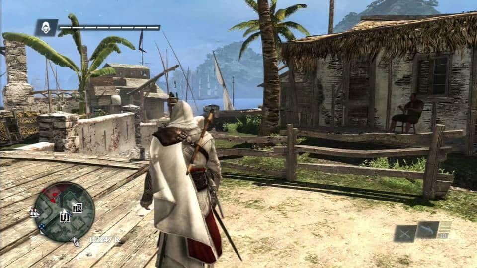 Gameplay de Assassin's Creed 4 Black Flag. (Foto: Internet)