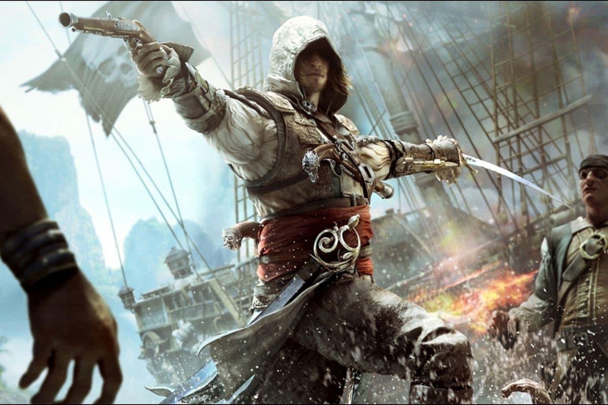 Assassin's Creed 4 Black Flag é uma ótima pedida. (Foto: Internet)