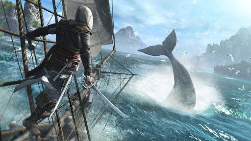 Assassin's Creed 4 Black Flag leva o jogador para os oceanos mais perigosos do planeta. (Foto: Internet)